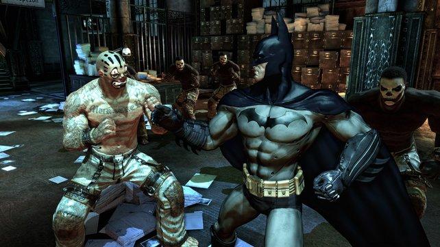 Batman Arkham Asylum in 3D erleben!