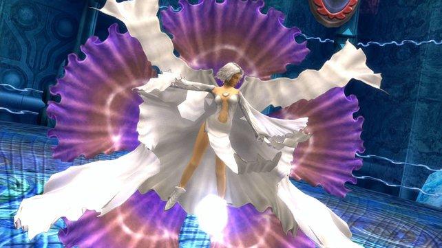 Wenn Yuna sich in diesen Fummel wirft, haben die Gegner echt nichts mehr zu lachen.