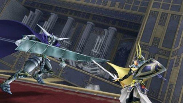 In Dissidia - Final Fantasy kreuzen Helden und Widersacher ihre Klingen.