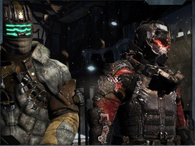 Isaac Clarke und John Carver sind die Haupcharaktere in Dead Space 3