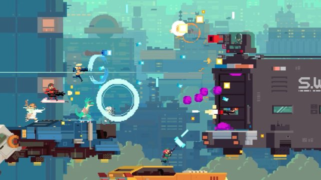 In Super Time Force manipuliert ihr die Zeit.