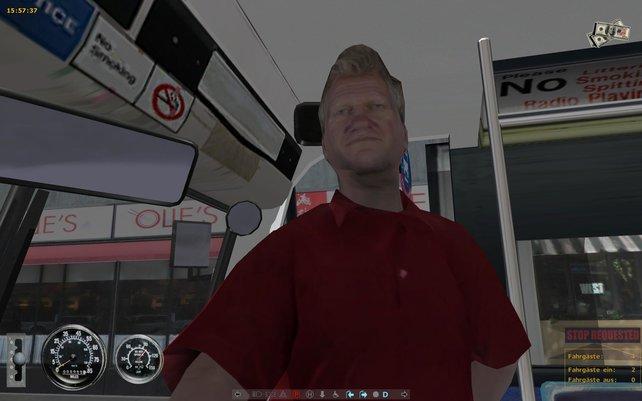 Oliver Kahn fährt Bus!