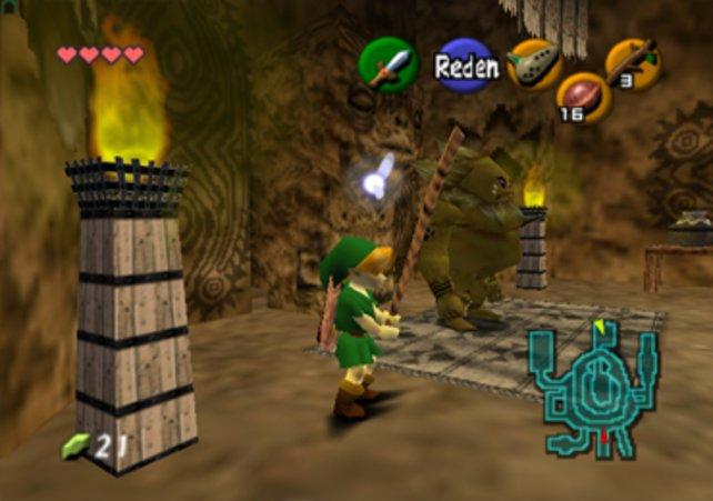 Mit Ocarina of Time gelingt es Eiji Aonuma, Link in die dritte Dimension zu befördern.