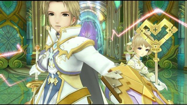 Jetzt könnt ihr auch für kurze Zeit Prinz Crescendo und Prinzessin Serenade spielen.