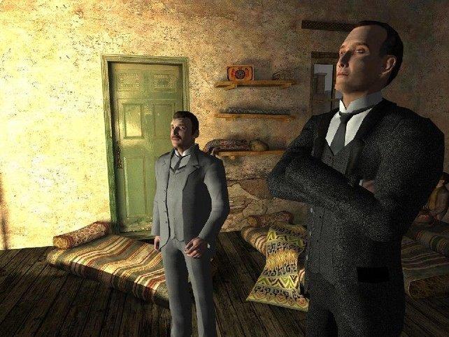 Holmes und der treue Watson