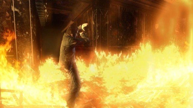 jpg: Optisch eine Wucht: Feuer, so heiß wie im echten Leben.