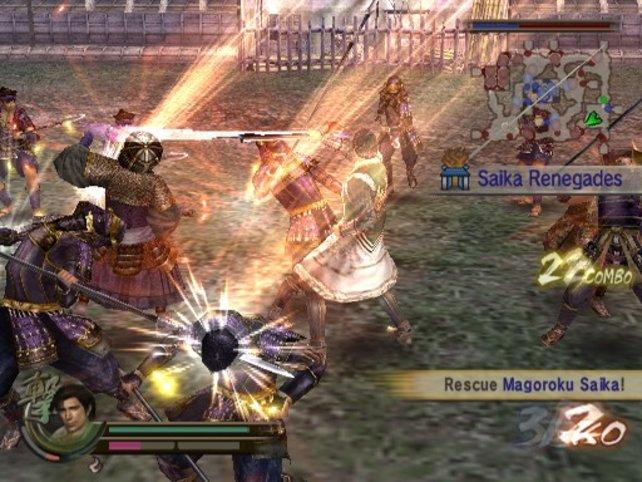 Ein Musou-Angriff bringt einige Vorteile mit sich
