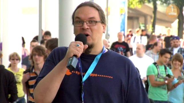 Onkel Jo auf der Spielemesse Gamescom - die filmischen Höhepunkte findet ihr auf der nächsten Seite.
