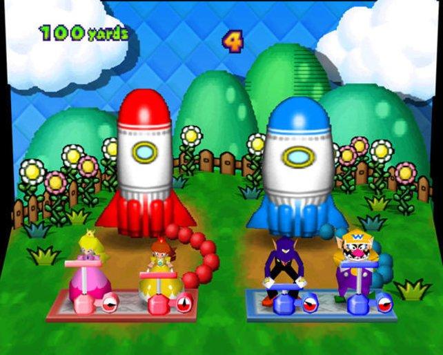 Die Minispiele sind seit jeher durchweg einfallsreich und spaßig. Ab Mario Party 3 sind auch Waluigi und Daisy dabei.