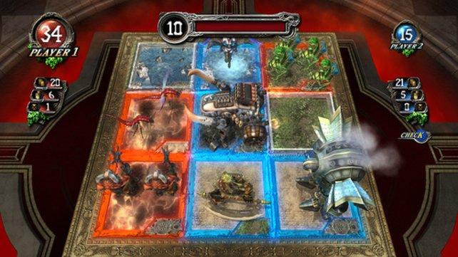 Gelingt es euch fünf der neun Felder zu besetzen seid ihr Sieger des Duells.