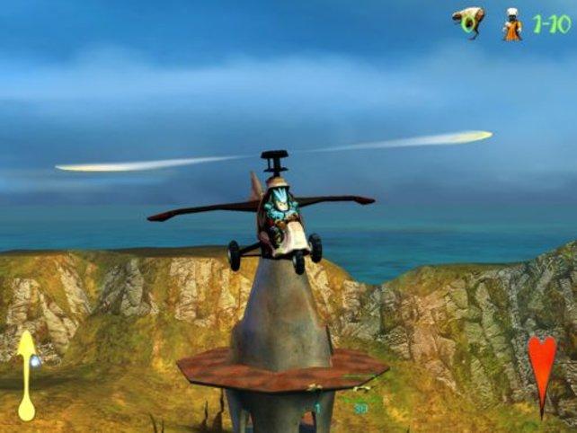 Ein Mecc im Gyrocopter
