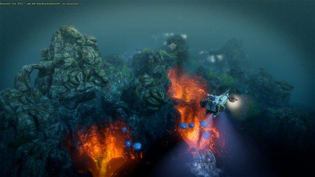 Vor jeder Landnahme steht immer die Erkundung per Trimaran-U-Boot.