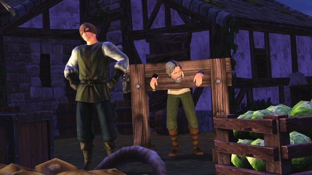 Selbst kleinere Vergehen wurden im Mittelalter mit dem Pranger bestraft.