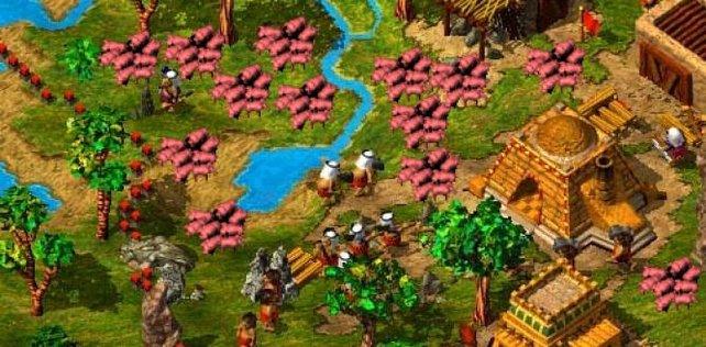 Zu viele Schweine auf der Welt - das dachten sich manche Spieler bei Die Siedler 3.