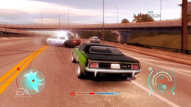 """Zwischen Polizeiwagen und mobilen Zielscheiben sehen """"NFS""""-Fahrer keinen großen Unterschied."""