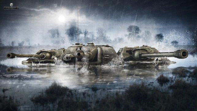 Ganz viele schöne Panzer! Doch welcher kann was und ist für welchen Spielstil geeignet?
