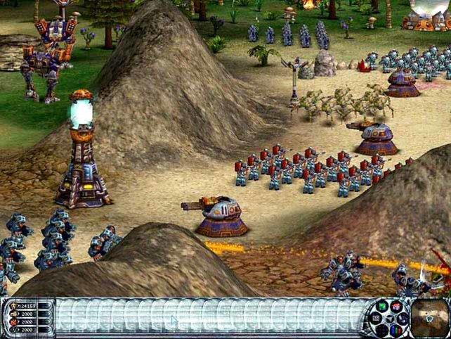 Eine Armee der Kolonisten