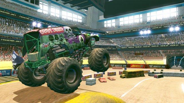 Die Ikone unter den Monster Trucks: Grave Digger.
