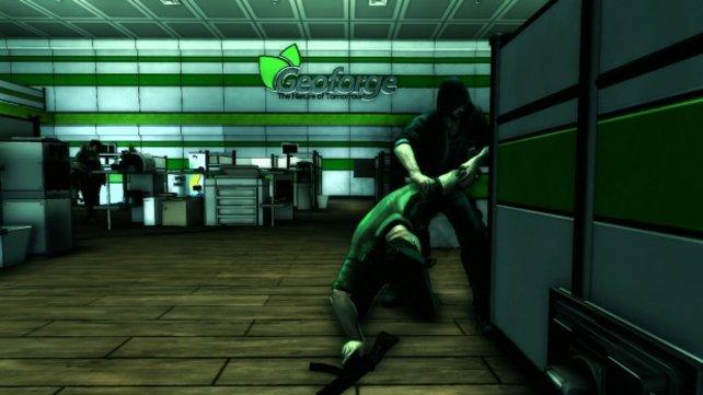 Gewalt muss nicht sein in Dark. Hier will Eric zum Beispiel nur den Blutdruck eines gestressten Soldaten messen.