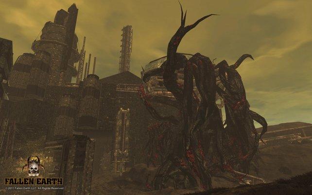 In Fallen Earth trefft ihr auf viele unterschiedliche Arten von Monstern.