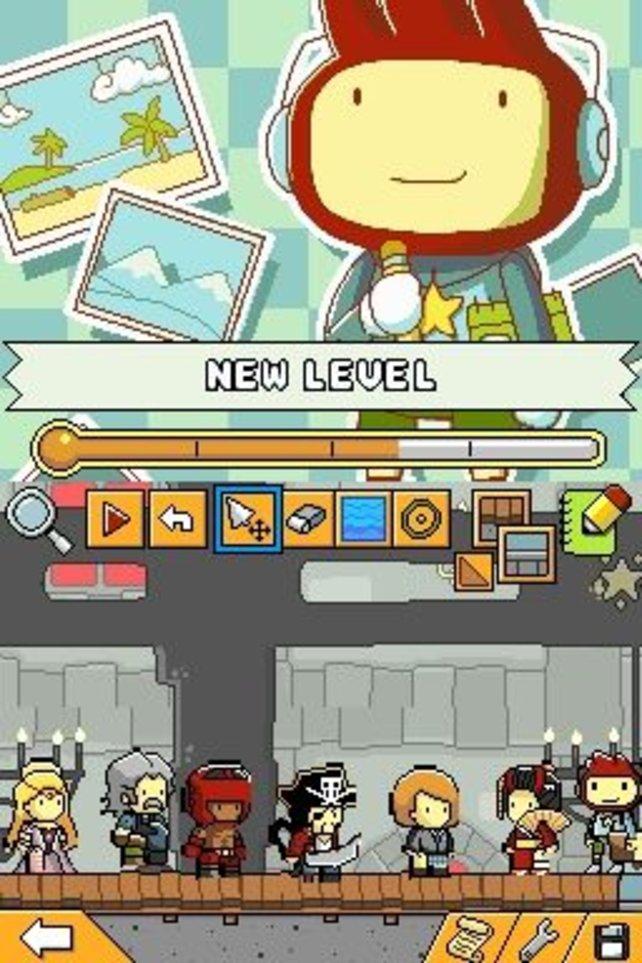 Mit dem Leveleditor könnt ihr umfassende Levels erstellen.
