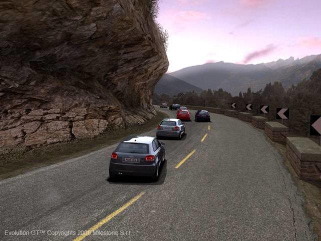 Mit dem Audi A3 durch die Berge