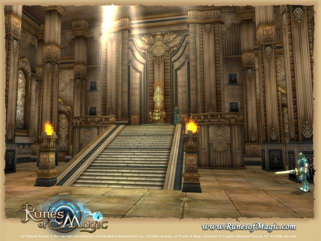 Wer am liebsten World of Warcraft spielt, wird die Ähnlichkeit zu Runes of Magic schätzen.