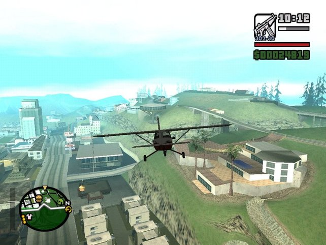 Ein Flug über Los Santos begeistert noch heute die Spieler. Und wird es wohl auch in GTA 5 bald wieder tun.