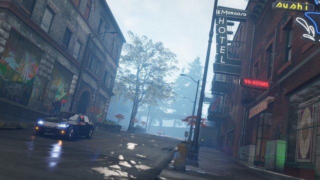Grafisch protzt das Spiel mit realistischen Spiegelungen und Schattenwurf.