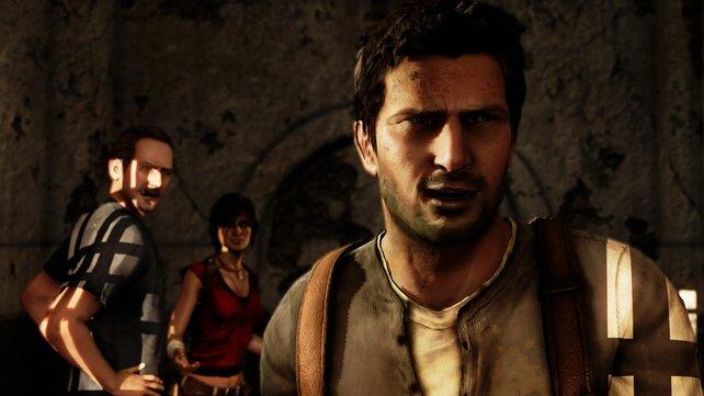 Drake, Sully und Chloe sind schlagfertig und kommen gegen jede Gefahr an.