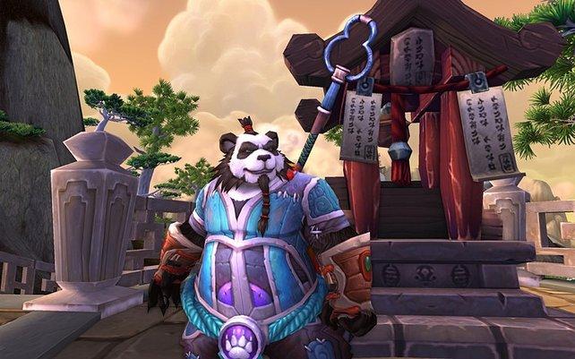 Die neue, spielbare Rasse: Pandaren