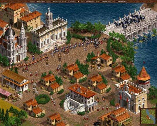 Eine umkämpfte Hafenstadt.