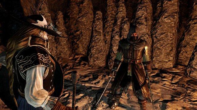Der Jäger und der Schwertkämpfer vereint.