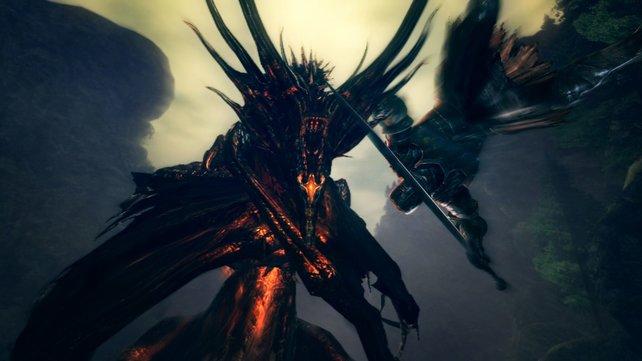 In Dark Souls erwarten euch schwere Monster und keine Gnade.