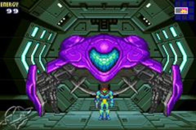 In Metroid Fusion hat Samus ein paar neue Teile an ihr Raumschiff geschraubt.