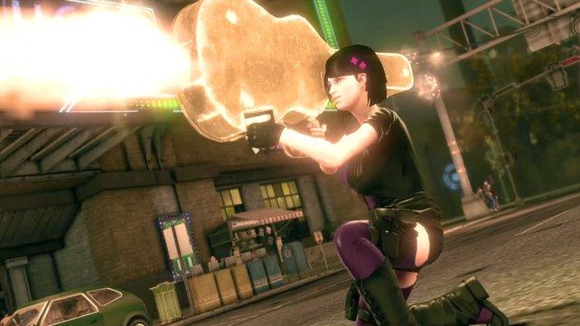 Volition setzt auch in Saints Row 4 wieder auf abgefahrene Waffen.