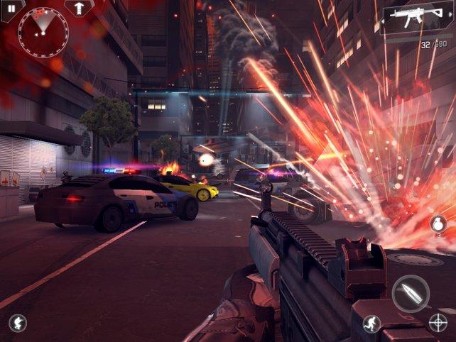 Modern Combat 4 bietet eine platte Spielgeschichte, aber viel überzeugende Action.