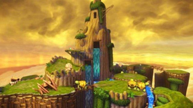 Die Skylands sehen idyllisch aus, aber nicht gerade originell.