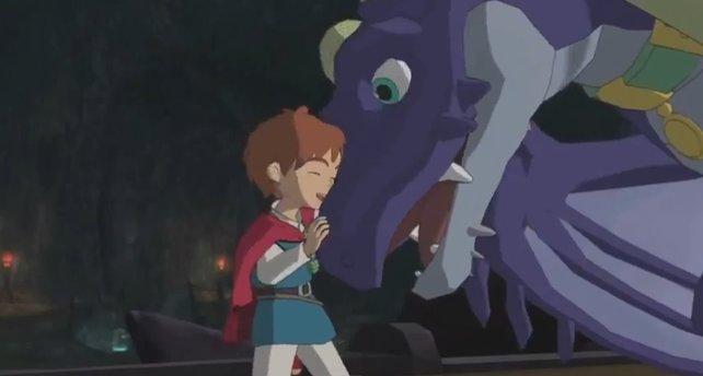 Im Laufe des Spiels freundet ihr euch sogar mit einem Drachen an.