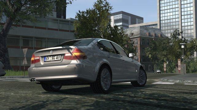 Semirs Dienstwagen glänzt auf der Xbox 360 noch schöner