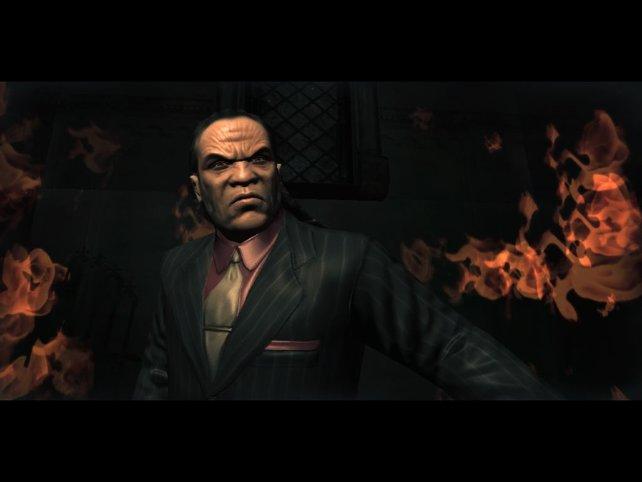 Und so sein höllischer Boss: Lucius Black