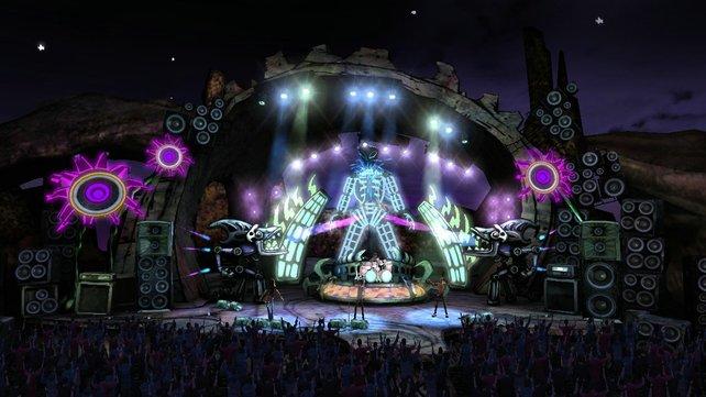 Die Bühnen sind wieder extrem cool gestaltet