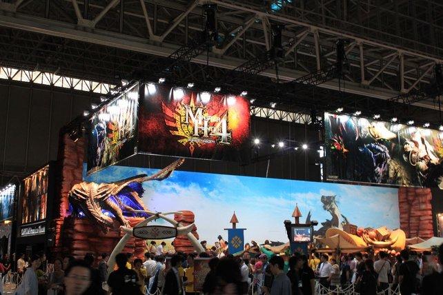 Weltpremiere bei Capcom: Monster Hunter 4 auf dem 3DS.