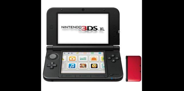 Auf dem Nintendo 3DS XL könnt ihr Marios Abenteuer größer sehen.