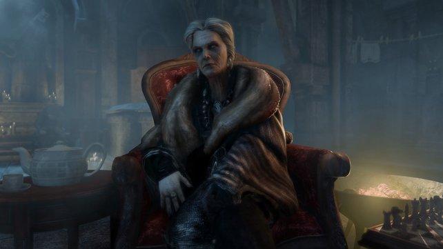 Die Bettler-Königin ist die Untergrund-Herrscherin in der Stadt.