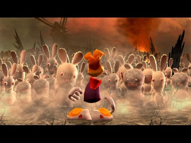 Diesmal muss es ohne gehen: Rayman verhalf den Rabbids zur Bekanntheit.