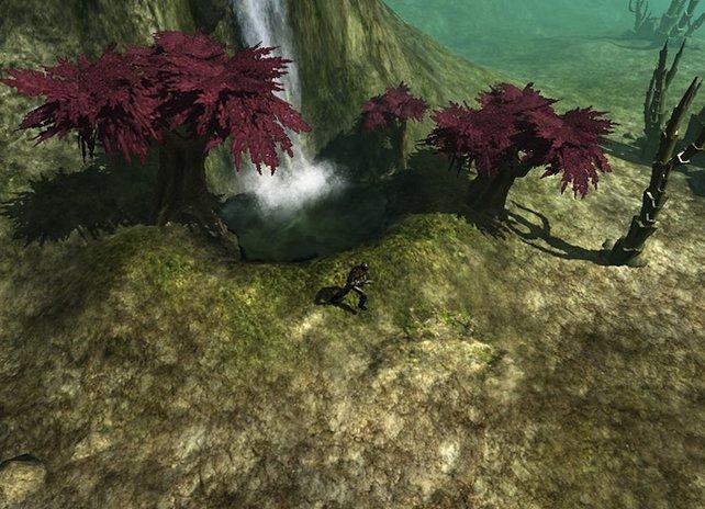 A.I. Invasion bietet eine ausgefeilte Grafik in 3D.