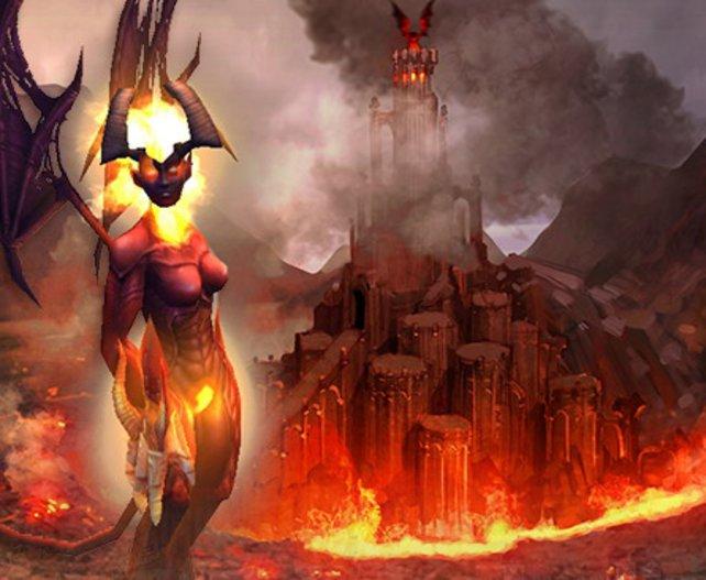 Die Inferno-Fraktion ist auch im Browserspiel dabei.