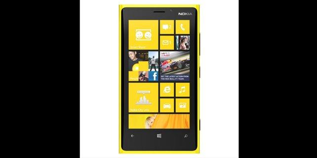 Das schicke Nokia Lumia setzt auf das wenig verbreitete Windows Phone 8.