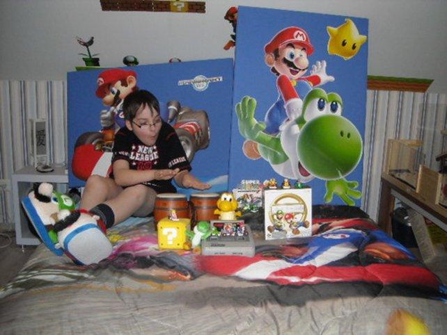 """Platz 1: Susanne K. gewinnt für ihre Familie eine """"Mario Party 9""""-Feier bei sich zuhause."""